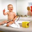 Säuglingsuntersuchungszimmer