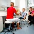 Behandlungszimmer mit Lungenfunktionsprüfung